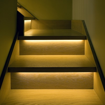 Merveilleux Automatic LED Stair Lighting; Automatic Stair Lighting; Automatic Stairs  Lighting ...