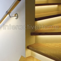 Automatic LED staircase lighting