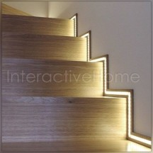 Automatic stair backlight