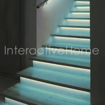 Auto stair lights with RGB LED strips