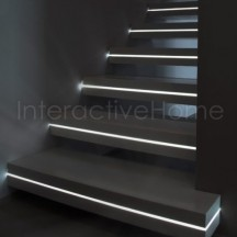 Interactive stairs lights