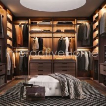 Automatic wardrobe lighting