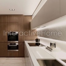 Automatic lighting of kitchen furniture