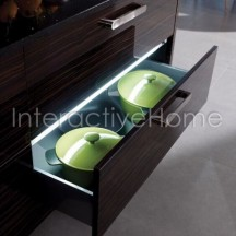 Automatic kitchen drawers lights
